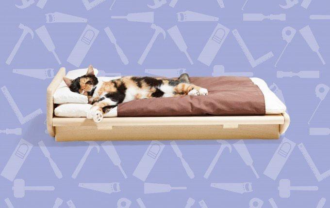 tokoベッド ネコ家具