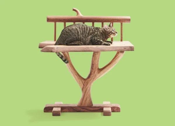 ツリーベンチ ネコ家具