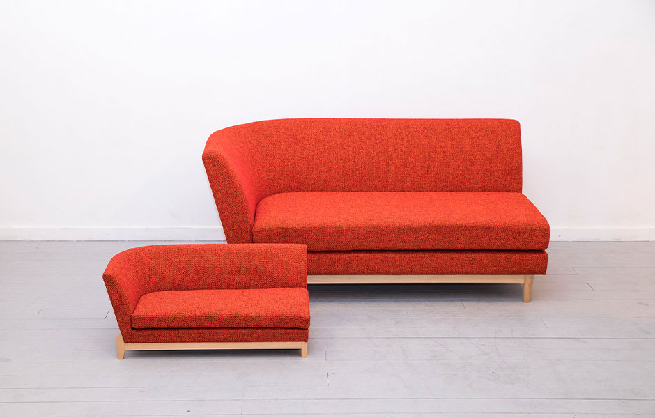PISOLINO Sofa(片肘)ネコ家具
