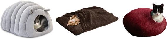 ドーム型の猫ベット