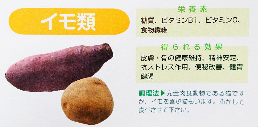 猫 サツマイモ 栄養
