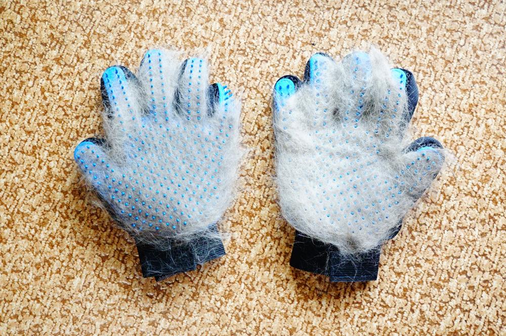 猫 グルーミング 手袋 裏