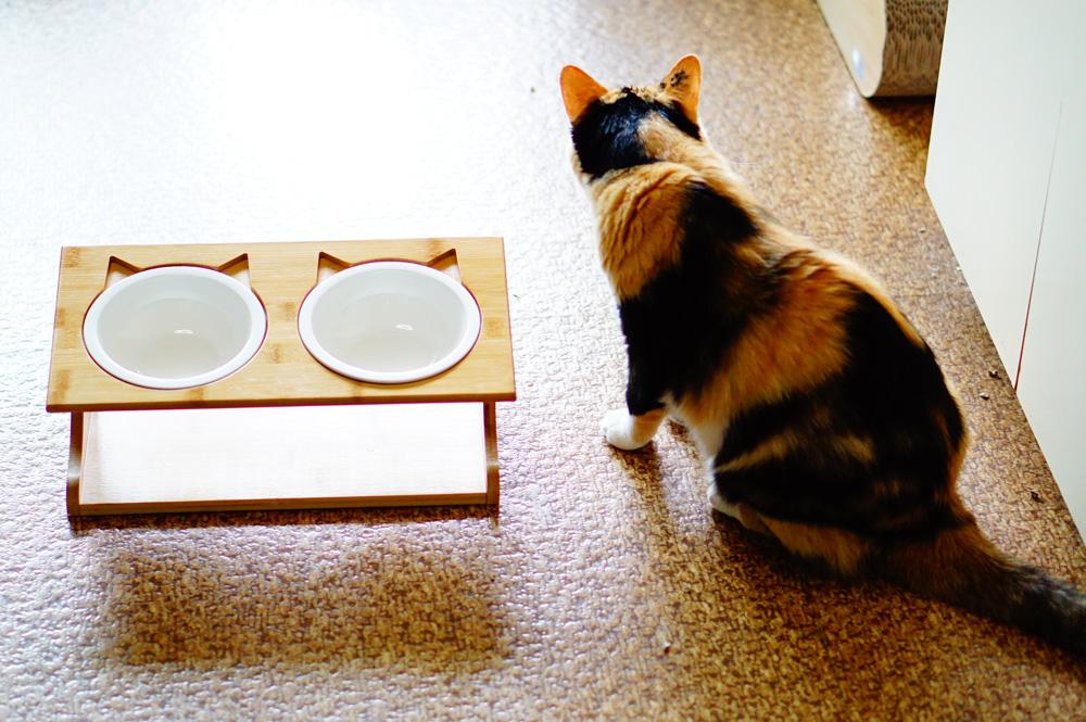 猫 食器 スタンド おしゃれ