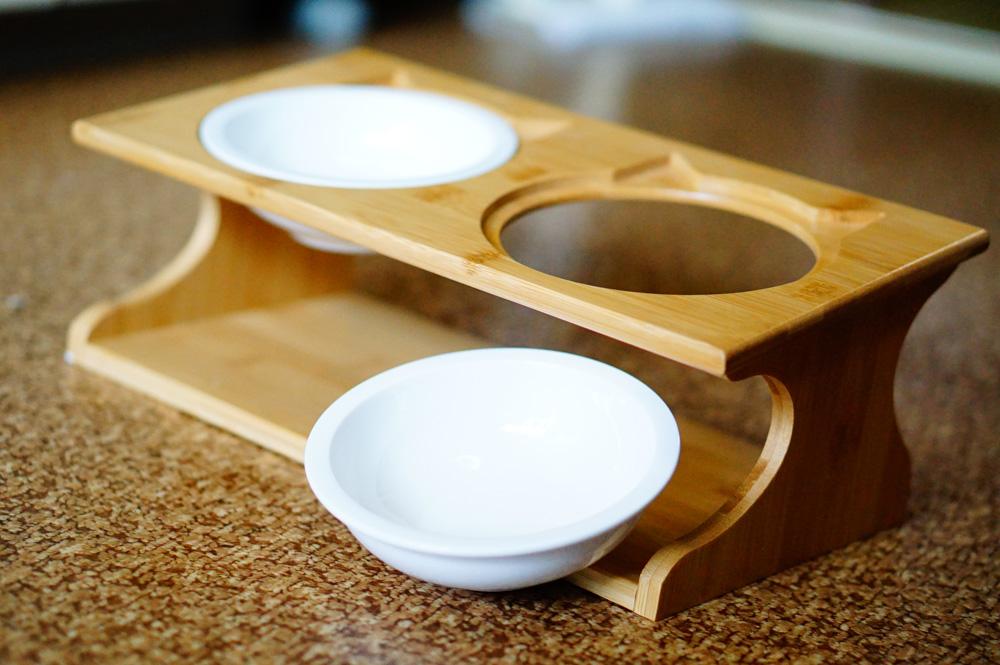 木製でおしゃれ!猫型の食器スタンドをレビュー