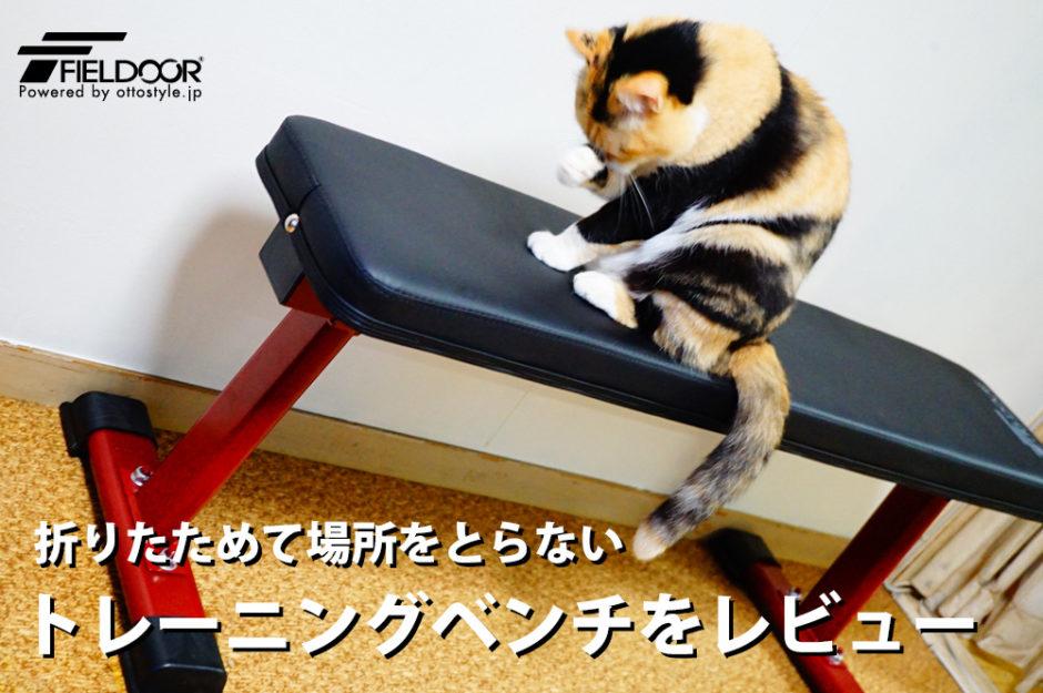 すごく快適!安くてコンパクトなFIELDOORのトレーニングベンチをレビュー。