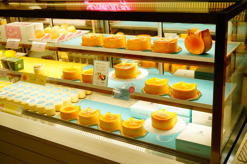 ねこねこチーズケーキの種類
