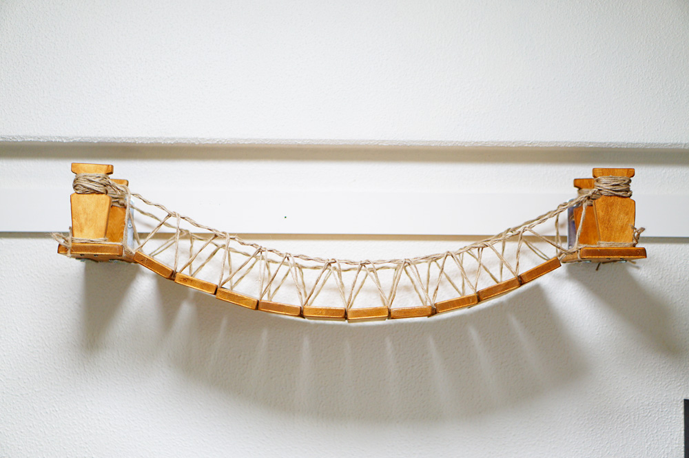 猫 吊り橋