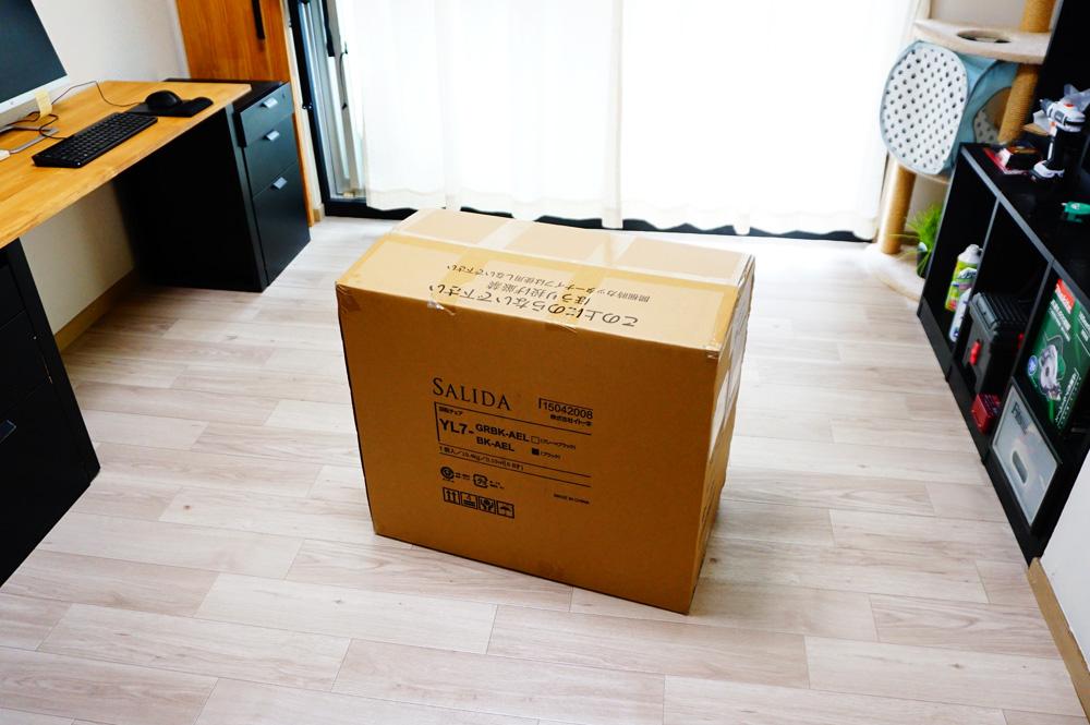 イトーキのSALIDA(サリダ)チェアYL7 ダンボールの大きさ