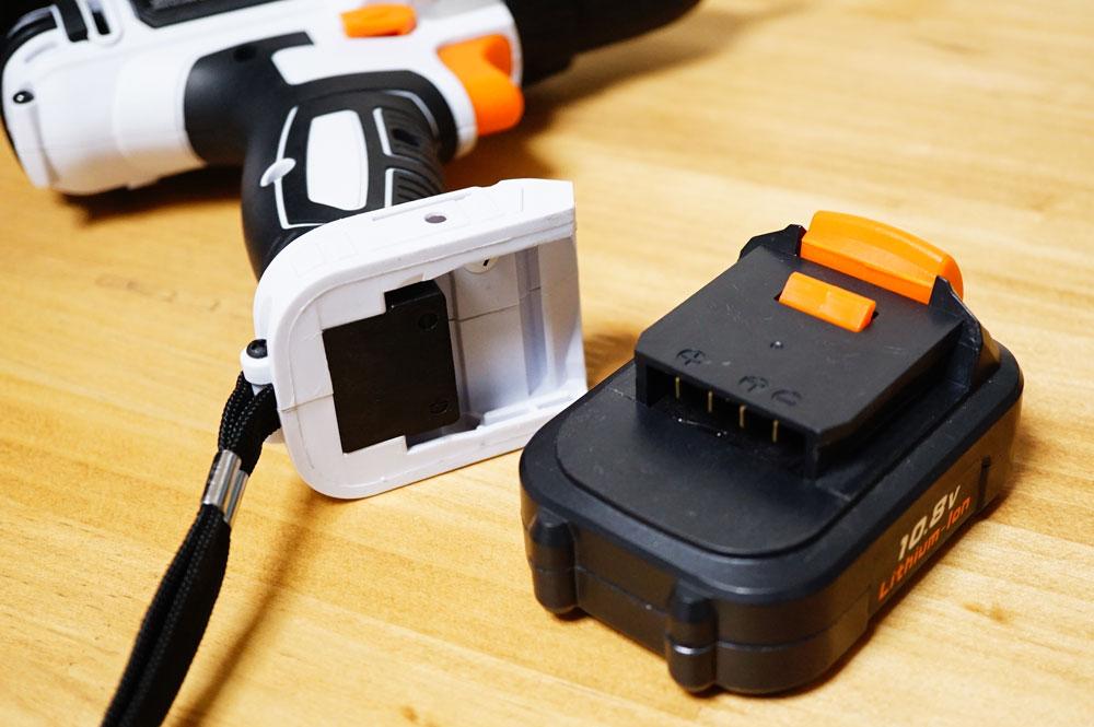 アイリスオーヤマの電動ドライバー(JCD28) 充電式 コードレス