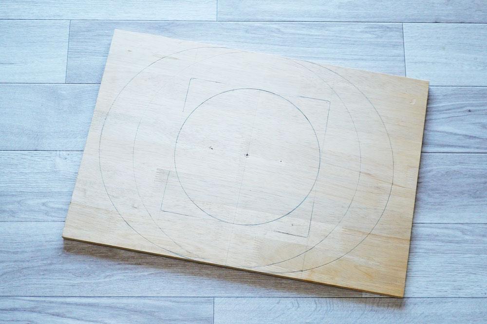 宇宙船(クリアボウル)猫ベッドの作り方 設計図