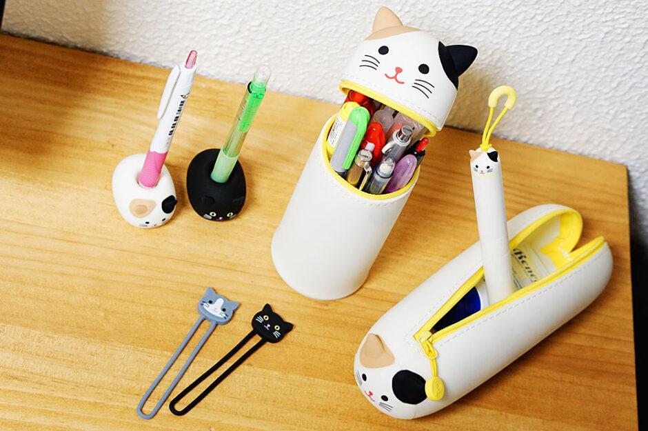 リヒトラブの動物(猫)ペンスタンドやケースが可愛いくて衝動買いした!