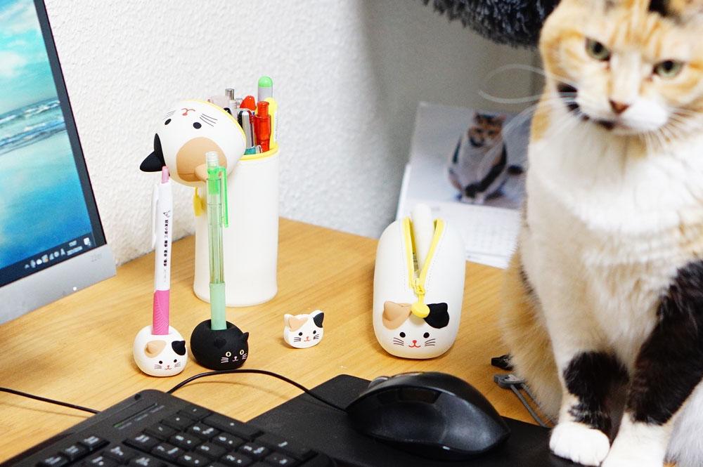 リヒトラブの「猫」文房具をレビュー