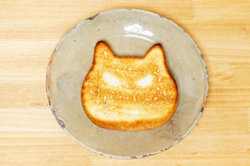 ねこねこ食パン プレーン トースト
