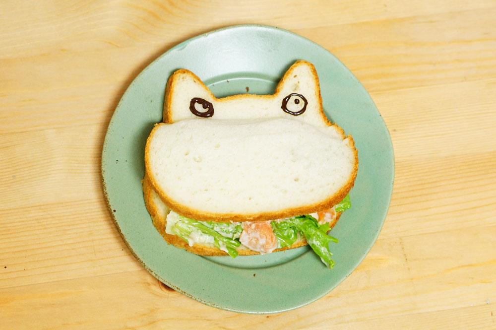ねこねこ食パン サンドイッチ