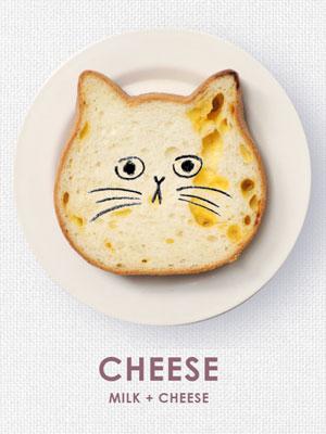 ねこねこ食パン チーズ味