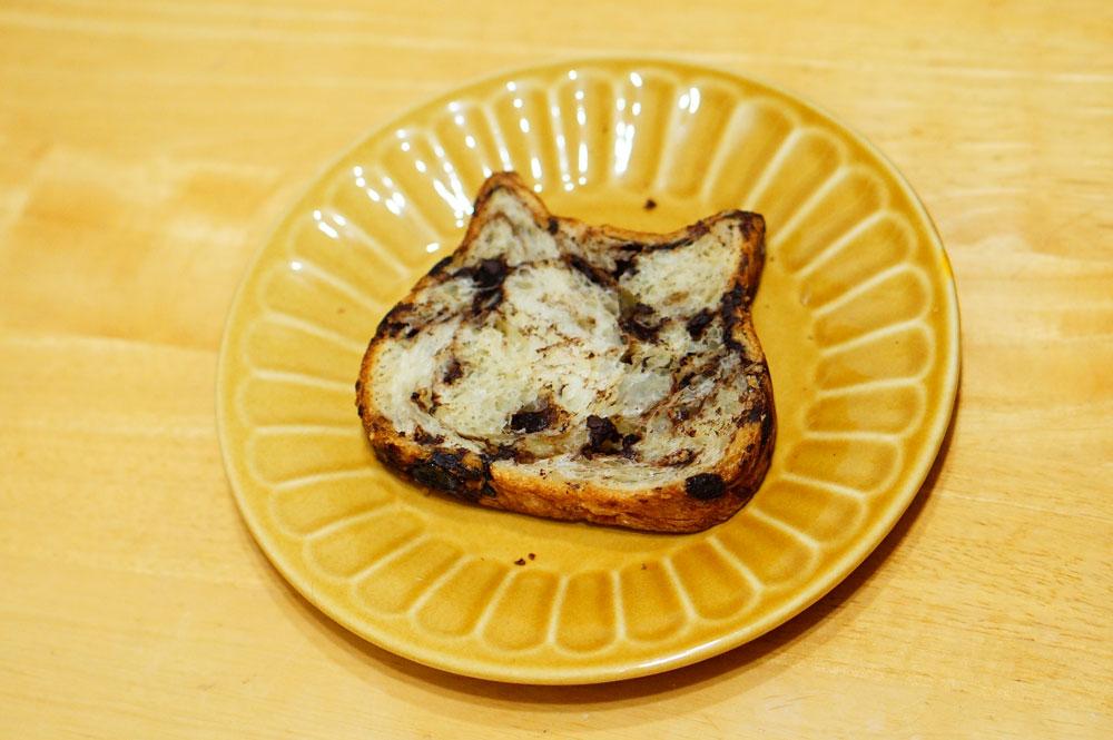 東京ねこねこ食パン【チョコ味】302円