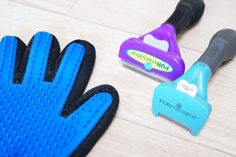 ブラッシング手袋 ファーミネーター 比較