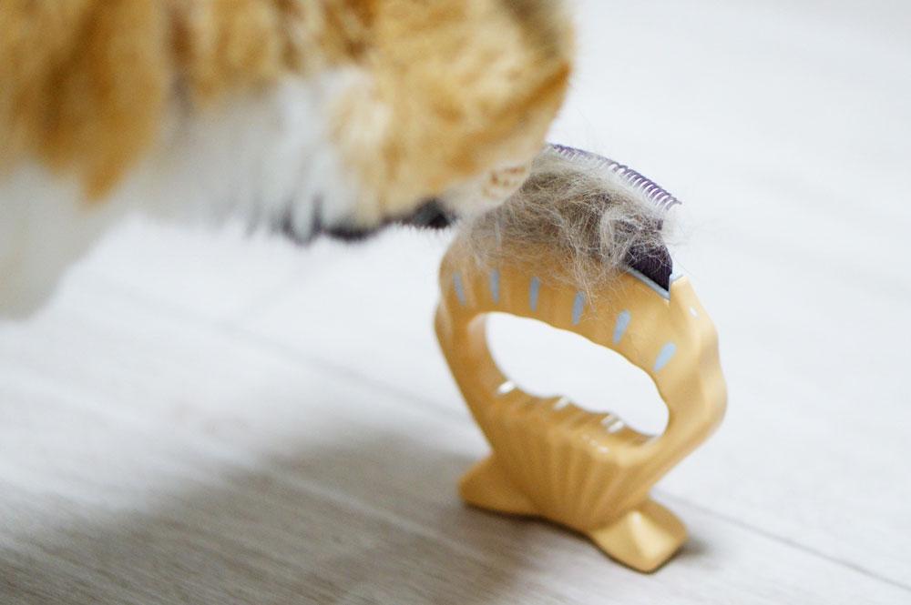 猫用ブラシ 安全 ピロコーム